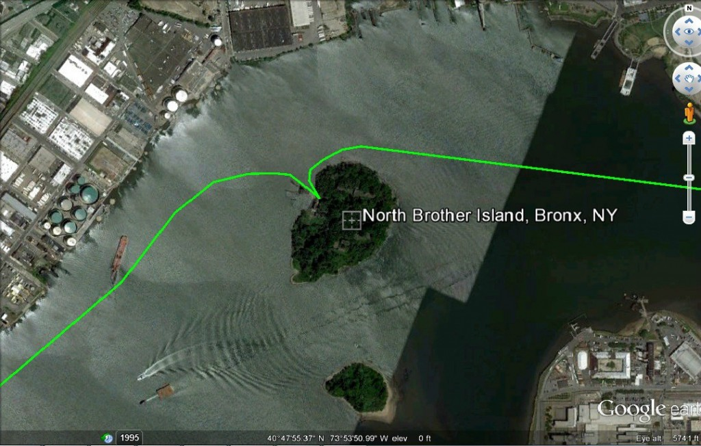 North Brother Is An Abandoned New York Island Nobody Knows About