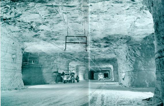 Abandoned Salt Mine 1200 Feet Under Detroit Is The Size Of An Entire City