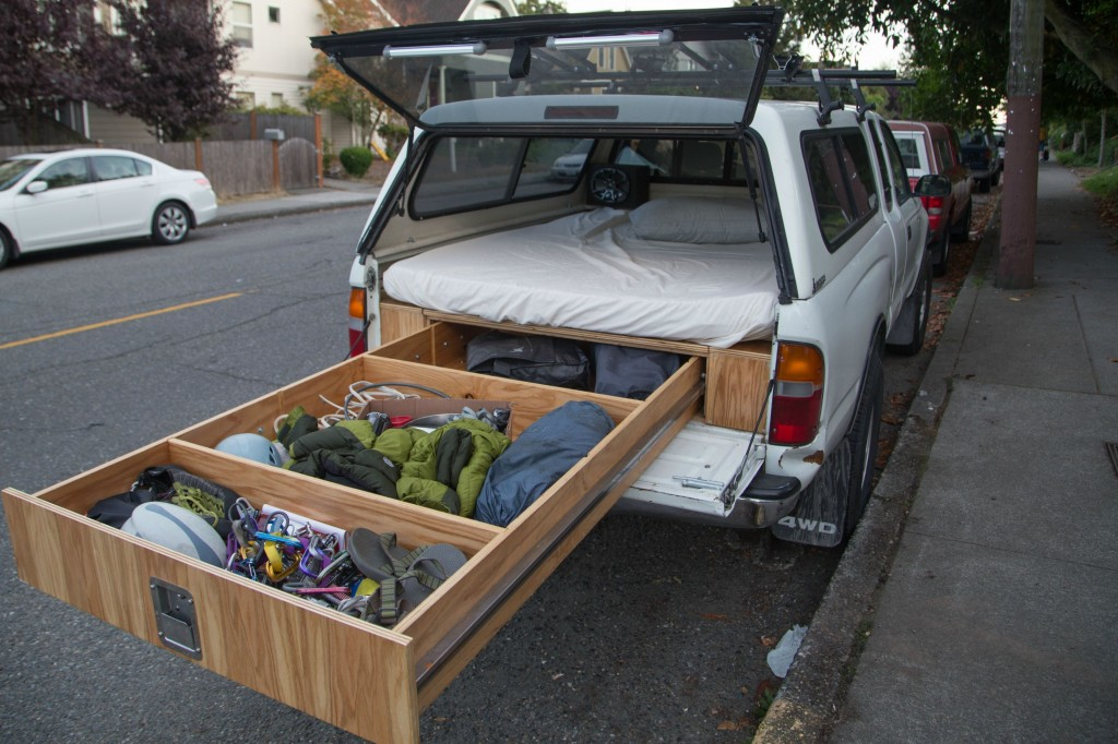 Bed Frame With Storage This Guy Made An Absolutely Epic Adventure Truck