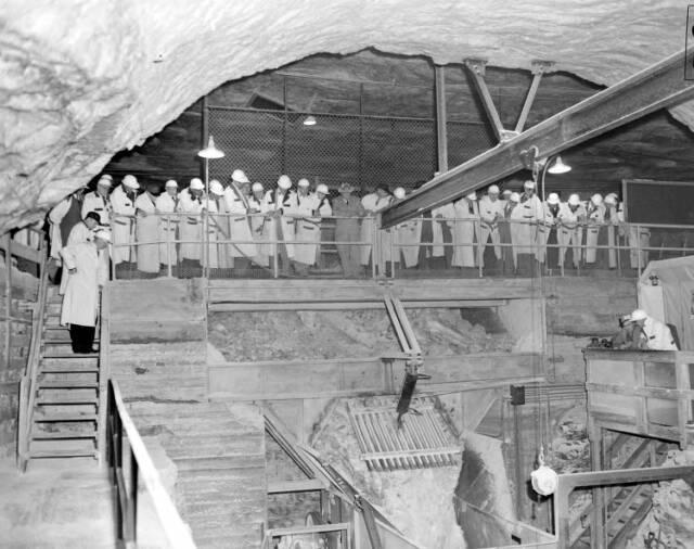 Abandoned Salt Mine 1200 Feet Under Detroit